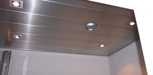 Lamellen plafond